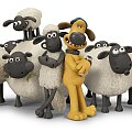 Shaun the Sheep is everywhere