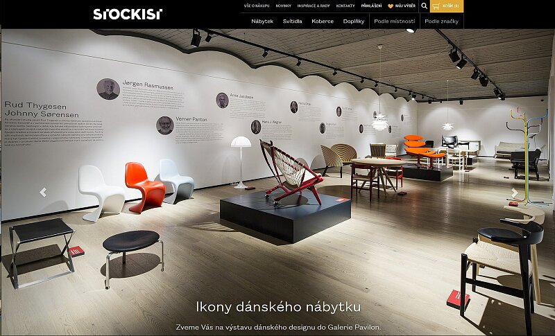 Screenshot: STOCKIST