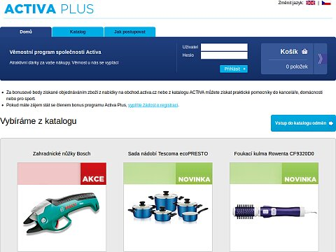 Screenshot: Activa Plus