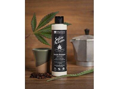 Pánský sprchový gel a šampon s konopím 2v1 BIO (200 ml)
