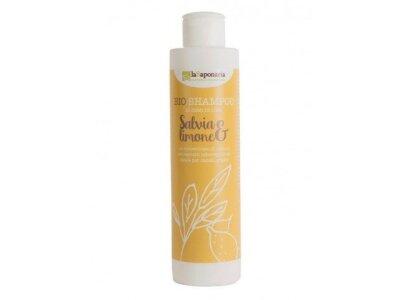 Šampon se šalvějí a citrónem BIO (200 ml)
