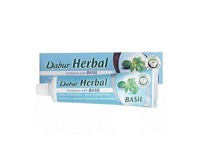 Zubní pasta Dabur s bazalkou, 100 ml