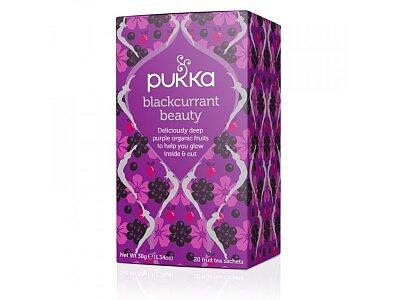 Pukka ájurvédský čaj Blackcurrant beauty, 20 sáčků