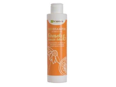 Šampon se slunečnicí a sladkým pomerančem BIO (200 ml)