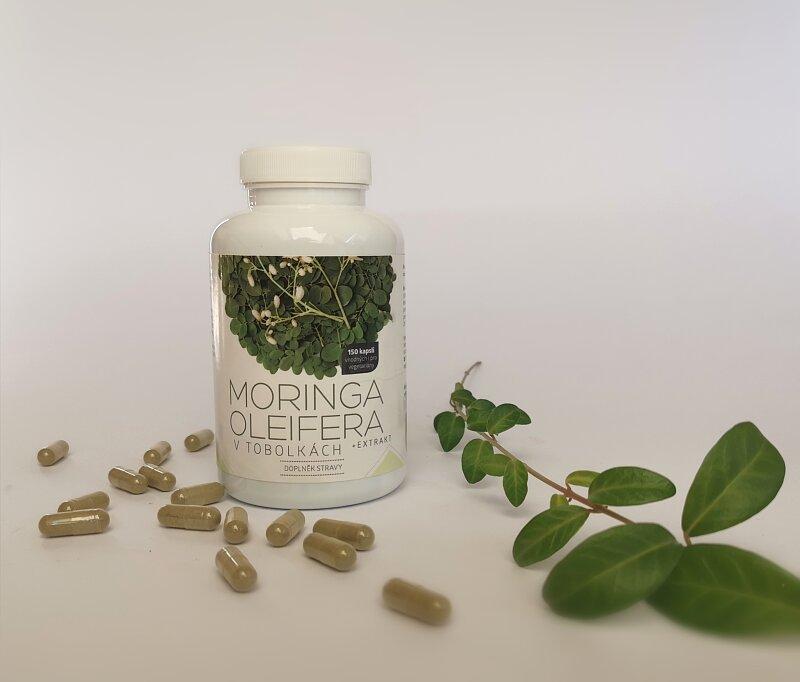 Moringa Oleifera - celulózové tobolky 150ks