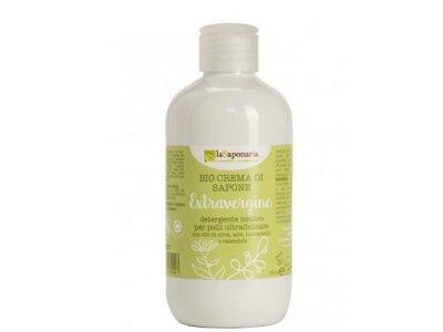 Sprchový gel s extra panenským olivovým olejem BIO (250 ml) laSaponaria