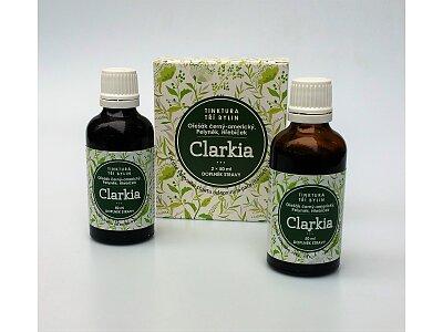 Clarkia - tinktura tří bylin 2x 50ml