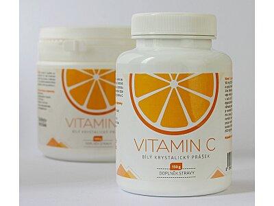 Vitamín C - krystalický prášek 150g
