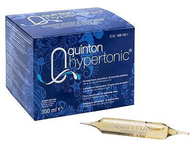 Quinton Hypertonic mořská plazma - 30 ampulí