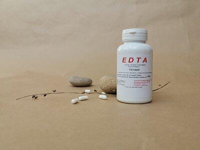 EDTA Calcium Disodium 100 kapslí- pro laboratorní účely
