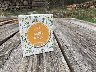 Kapky z Lípy - bylinná tinktura 2x50ml
