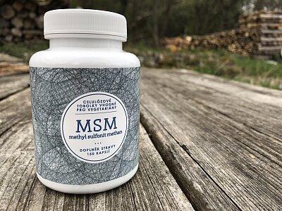 MSM - celulózové tobolky 150ks