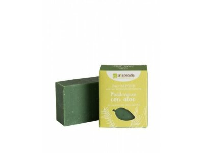 Tuhé olivové mýdlo Bio - Středomořské bylinky s aloe 100g