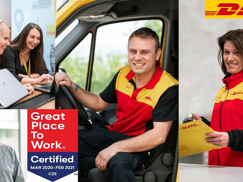 Spokojení zaměstnanci – DHL Express Česká republika získala ocenění Great Place to work™