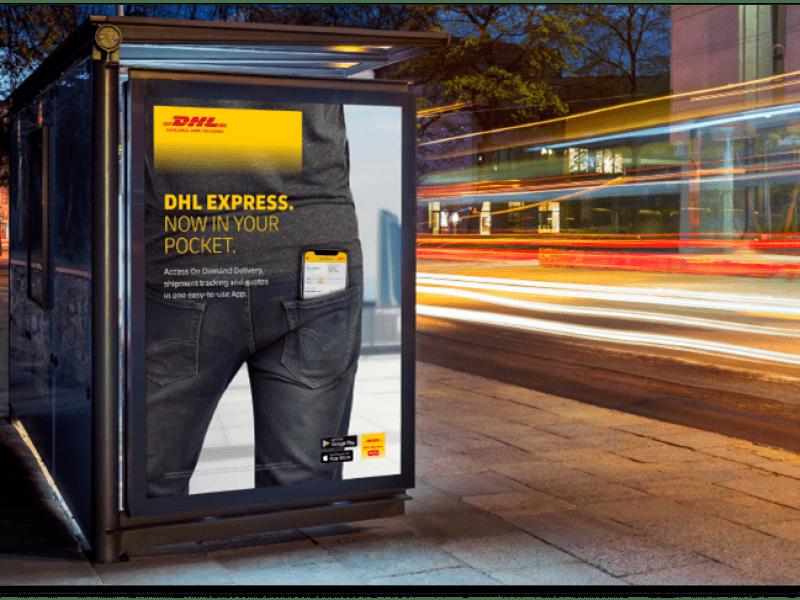 DHL Express mobile - mobilní aplikace pro zákazníky