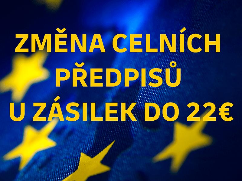 Zrušení osvobození od DPH při dovozu zboží do EU od 1. července 2021