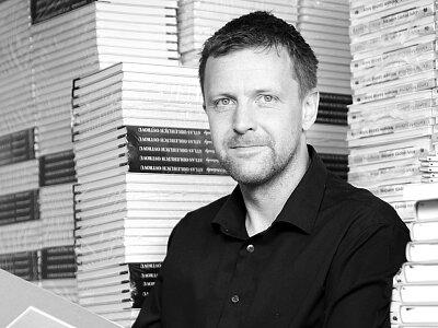 Ředitel nakladatelství Tomáš Brandejs jako večerní host Radiožurnálu