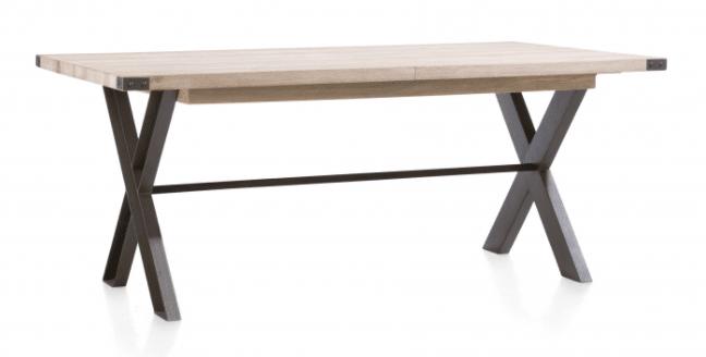 Moderní rozkládací jídelní stůl s rozkladem 160x100 cm