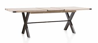 Moderní jídelní stůl s rozkladem 160x100 cm