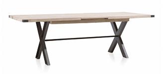 Rozkládací moderní jídelní stůl 160x100 cm