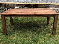 Dubový masivní jídelní stůl s kvalitním rozkladem