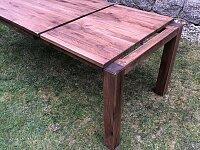 Rozkládací dubový stůl 180x90 cm