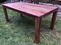 Dubový masivní stůl 180x90 cm