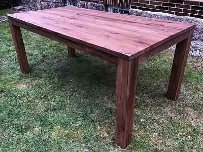 York 140 cm - masivní rozkládací jídelní dubový stůl