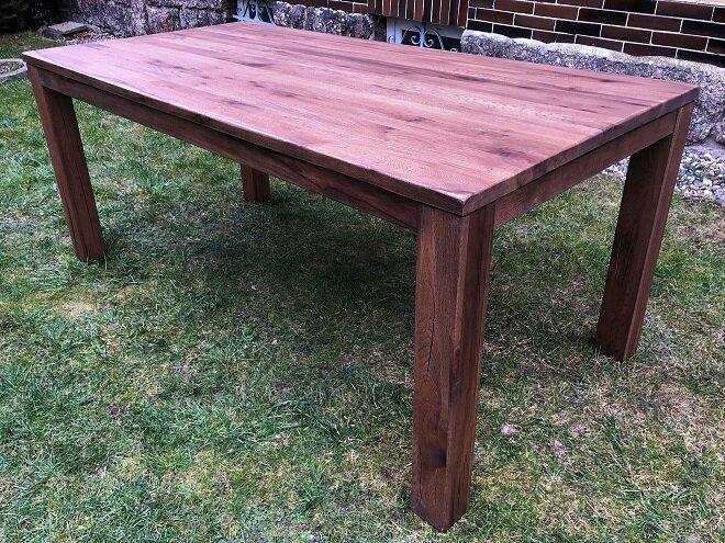Kvalitní masivní dubový stůl York 140cm