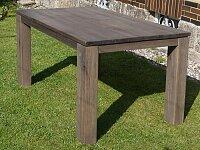 Dubový celomasivní jídelní stůl v rozměru 140x90 cm