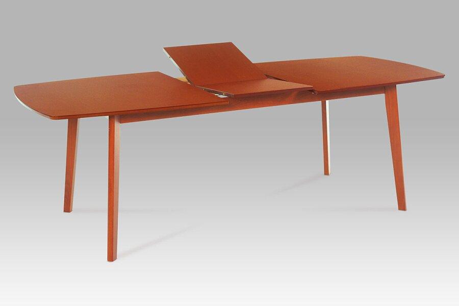 Jídelní stůl rozkládací 180+44x100 cm, barva třešeň