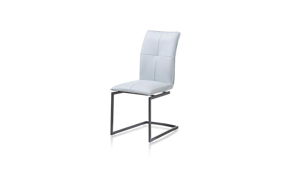 Moderní jídelní židle v kůži