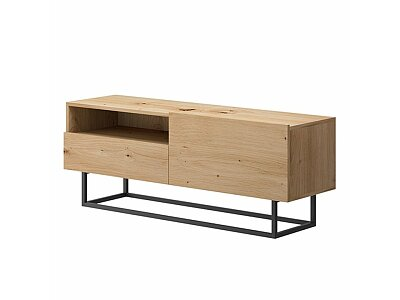 RTV stolek bez podstavy, dub artisan