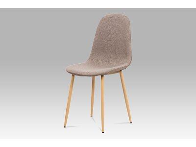 Jídelní židle, cappuccino látka