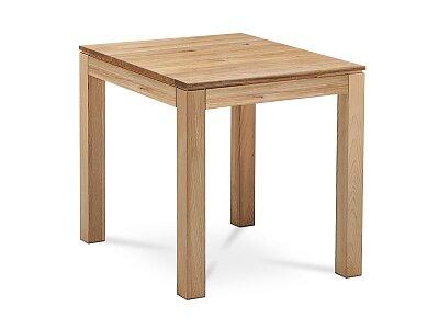 Jídelní stůl 80x80x75 cm, masiv dub