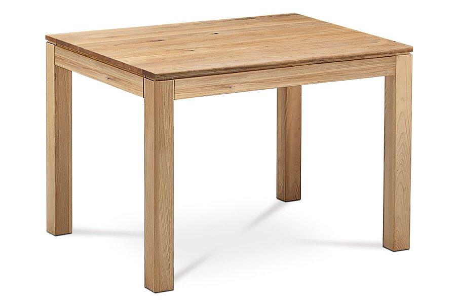 Jídelní stůl 120x80x75 cm, masiv dub, povrchová úprava olejem, nohy 8x8 cm