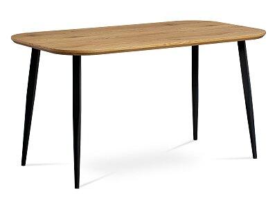 Jídelní stůl, MDF deska 3D dekor dub