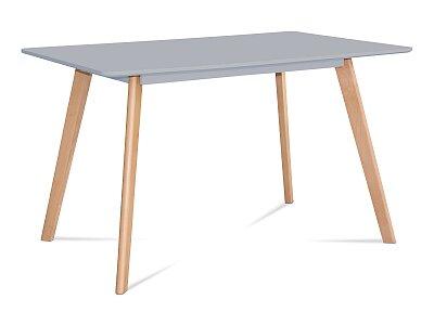 Jídelní stůl -  masiv buk v šedém odstínu