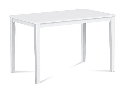 Jídelní stůl - masiv - barva bílá