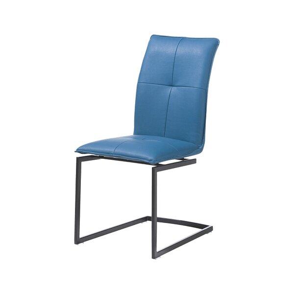 Kvalitní moderní jídelní židle v kůži