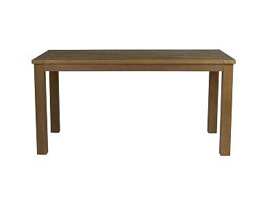 Tony - částečně masivní nerozkládací jídelní dubový stůl