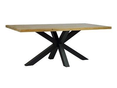 Castle - masivní nerozkládací jídelní dubový stůl