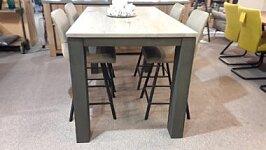 Moderní rozkládací barový stůl 140 cm