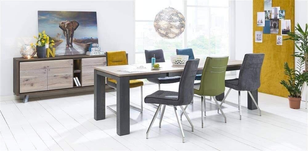 Kvalitní masivní rozkládací jídelní stůl