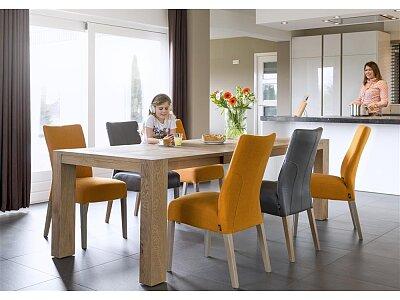 Nordi - masivní rozkládací jídelní dubový stůl