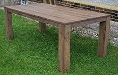 Nejlepší masivní dubový rozkládací jídelní stůl o rozměru 200x100 + 60 cm