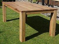 Nejlepší masivní dubový jídelní stůl 200x100 cm