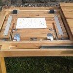 Nejlepší rozkládací systém u jídelních stolů 200x100+60 cm