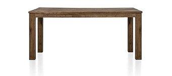 Celomasivní dubový jídelní stůl s kvalitním rozkladem 160x90+60 cm