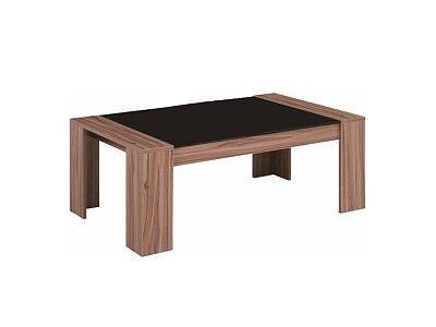 Konferenční stolek RAYMOND - černé sklo